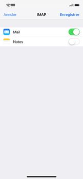 Apple iPhone X - iOS 12 - E-mail - Configuration manuelle - Étape 16