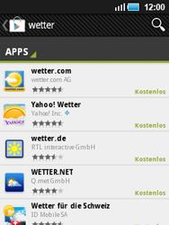 Samsung Galaxy Mini - Apps - Herunterladen - 0 / 0