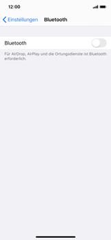 Apple iPhone X - iOS 13 - Bluetooth - Verbinden von Geräten - Schritt 6
