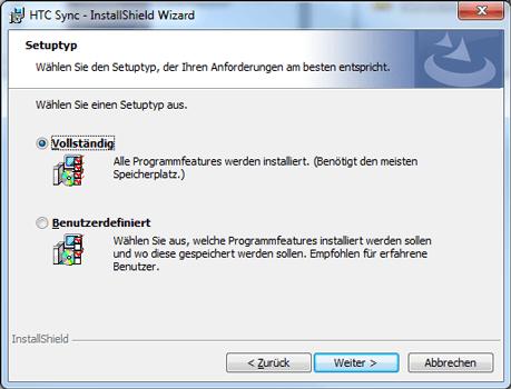 HTC Desire X - Software - Installieren von Software zur PC-Synchronisierung - Schritt 9