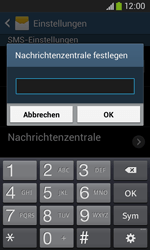 Samsung Galaxy Ace 3 - SMS - Manuelle Konfiguration - 7 / 9