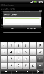HTC X315e Sensation XL - SMS - Manuelle Konfiguration - Schritt 8