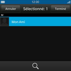 BlackBerry Q10 - E-mail - Envoi d