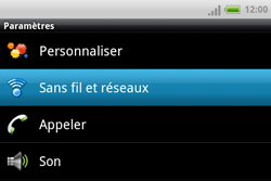 HTC A810e ChaCha - Internet - Configuration manuelle - Étape 4