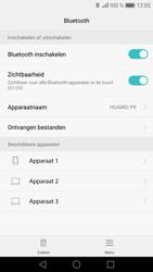 Huawei P9 - Bluetooth - koppelen met ander apparaat - Stap 8