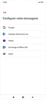 Xiaomi RedMi Note 7 - E-mail - 032c. Email wizard - Outlook - Étape 7