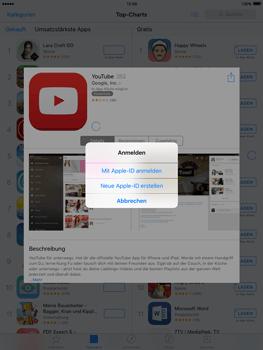 Apple iPad Air 2 - Apps - Konto anlegen und einrichten - 18 / 35