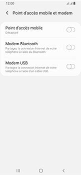 Samsung Galaxy A40 - Internet et connexion - Utiliser le mode modem par USB - Étape 8