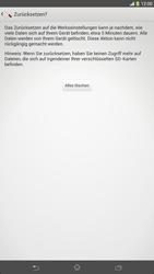 Sony Xperia Z Ultra LTE - Fehlerbehebung - Handy zurücksetzen - Schritt 9