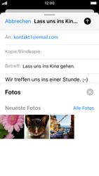 Apple iPhone SE - iOS 13 - E-Mail - E-Mail versenden - Schritt 11