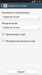 Samsung Galaxy S 4 LTE - E-mail - configuration manuelle - Étape 16