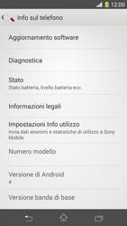 Sony Xperia Z1 Compact - Software - Installazione degli aggiornamenti software - Fase 6