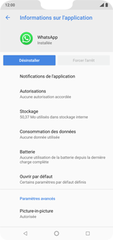 Nokia 7.1 - Applications - Supprimer une application - Étape 7