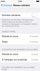 Apple iPhone 5s - Internet et roaming de données - Comment vérifier que la connexion des données est activée - Étape 4