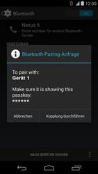 LG D821 Google Nexus 5 - Bluetooth - Geräte koppeln - Schritt 9