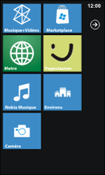Nokia Lumia 800 - Applications - Personnaliser l