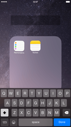 Apple iPhone 6 Plus - iOS 8 - Getting started - Personalising your Start screen - Step 6