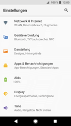 Sony Xperia XZ1 Compact - Netzwerk - Manuelle Netzwerkwahl - Schritt 4