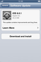 Apple iPhone 3GS - Software - Installing software updates - Step 8