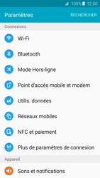 Samsung Galaxy S6 - Internet et roaming de données - Désactivation du roaming de données - Étape 4