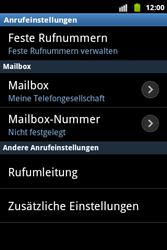 Samsung S5690 Galaxy Xcover - Anrufe - Rufumleitungen setzen und löschen - Schritt 5