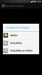 HTC One - Prise en main - Installation de widgets et d