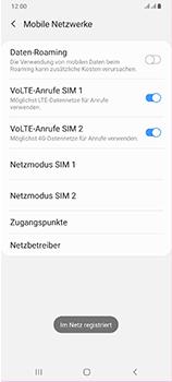 Samsung Galaxy A70 - Netzwerk - Manuelle Netzwerkwahl - Schritt 14