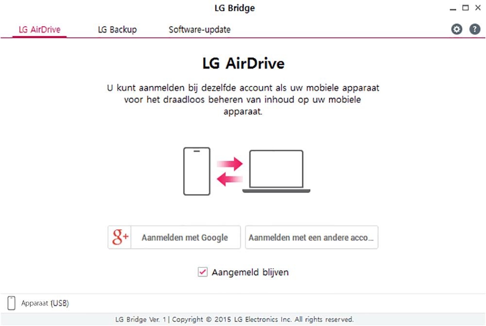 LG K4 (2017) - Software - Backup maken van je toestel - Stap 3