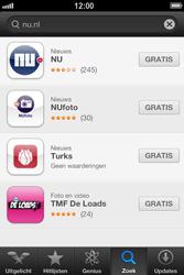 Apple iPhone 4 (iOS 6) - apps - app store gebruiken - stap 7