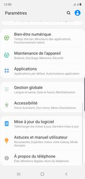 Samsung Galaxy Note 10 - Prise en main - Comment ajouter une langue de clavier - Étape 4