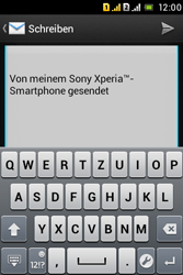 Sony Xperia Tipo Dual - E-Mail - E-Mail versenden - 9 / 18