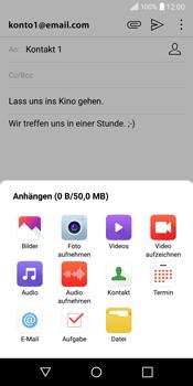 LG Q6 - E-Mail - E-Mail versenden - 12 / 20