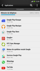 HTC One Max - Applications - Comment désinstaller une application - Étape 5