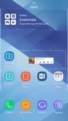 Samsung Galaxy A5 (2017) - Android Nougat - Startanleitung - Installieren von Widgets und Apps auf der Startseite - Schritt 7