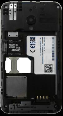 Alcatel OT-4009D Pixi 3 (3.5) - SIM-Karte - Einlegen - Schritt 6