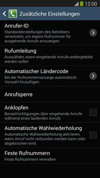 Samsung N9005 Galaxy Note 3 LTE - Anrufe - Rufumleitungen setzen und löschen - Schritt 7