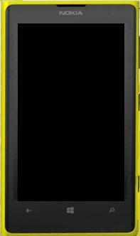 Nokia Lumia 1020 - Premiers pas - Découvrir les touches principales - Étape 3