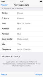Apple iPhone 6 - Applications - Créer un compte - Étape 21