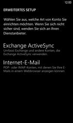 HTC Windows Phone 8S - E-Mail - Konto einrichten - 1 / 1