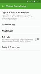 Samsung G925F Galaxy S6 Edge - Anrufe - Rufumleitungen setzen und löschen - Schritt 7