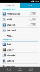 Huawei Ascend P6 - Internet e roaming dati - Come verificare se la connessione dati è abilitata - Fase 4
