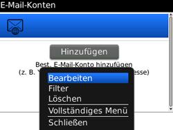 BlackBerry 8520 Curve - E-Mail - Konto einrichten - Schritt 14