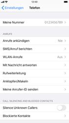 Apple iPhone 8 - iOS 13 - WiFi - WiFi Calling aktivieren - Schritt 5