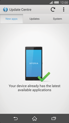 Sony Xperia Z2 - Software - Installing software updates - Step 7