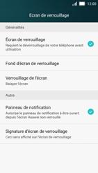 Huawei Y5 - Sécuriser votre mobile - Activer le code de verrouillage - Étape 4