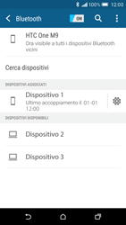 HTC One M9 - Bluetooth - Collegamento dei dispositivi - Fase 8