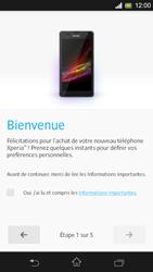Sony Xpéria SP - Premiers pas - Créer un compte - Étape 5