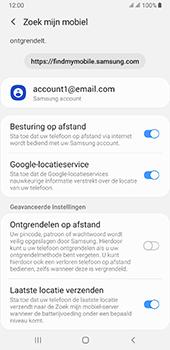 Samsung galaxy-a7-dual-sim-sm-a750fn-android-pie - Beveiliging en ouderlijk toezicht - Zoek mijn mobiel inschakelen - Stap 9