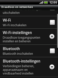 HTC A3333 Wildfire - bluetooth - aanzetten - stap 5
