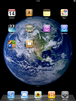 Apple iPad 2 - Internet - Example mobile sites - Step 1